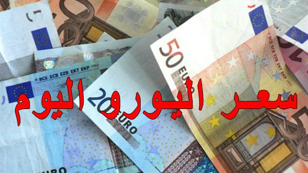سعر اليورو اليوم فى مصر فى السوق السوداء وشركات الصرافة والبنوك تحديث يومي ولحظي