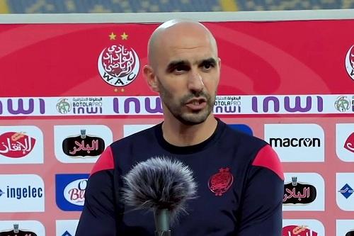 taroudantpress.ma : Regragui après la victoire sur Tanger : Le match n'a pas été facile, plus de travail nous attend