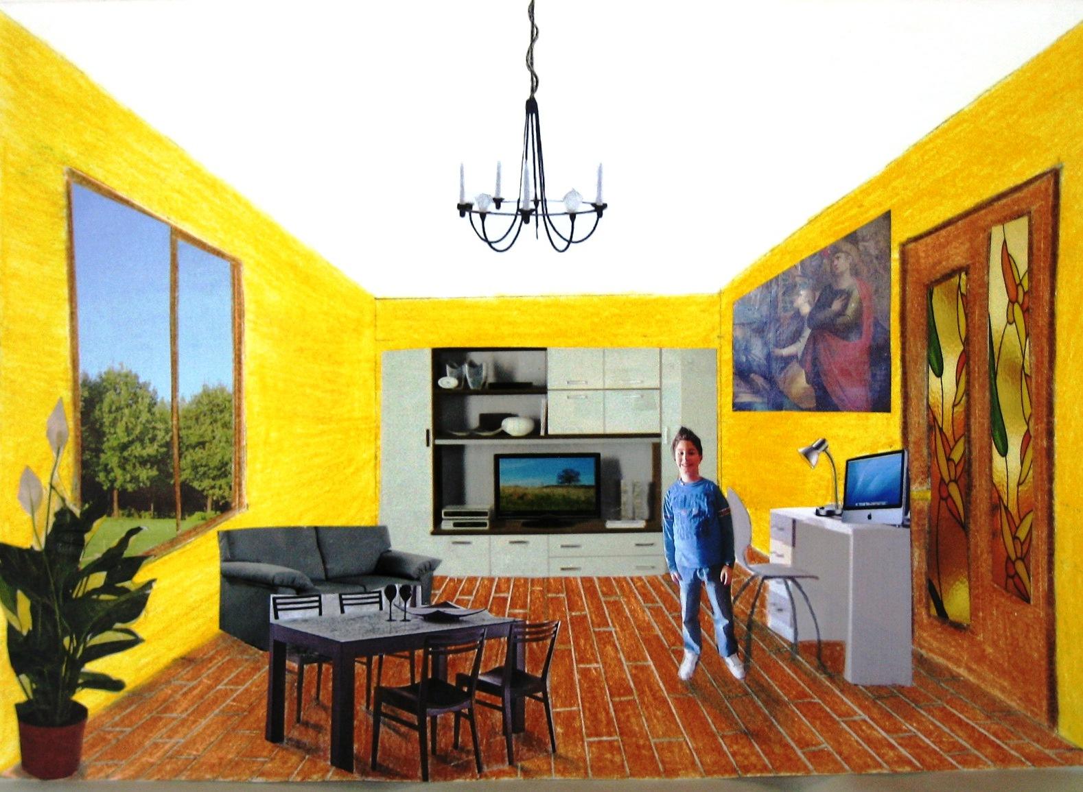 Immagin rti arredare una stanza for Disegnare piantina stanza