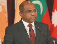 Maldivian Foreign Minister to Arrive in India