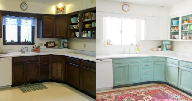 10 υπέροχες ιδέες για να ανανεώσετε τα ντουλάπια της κουζίνας σας