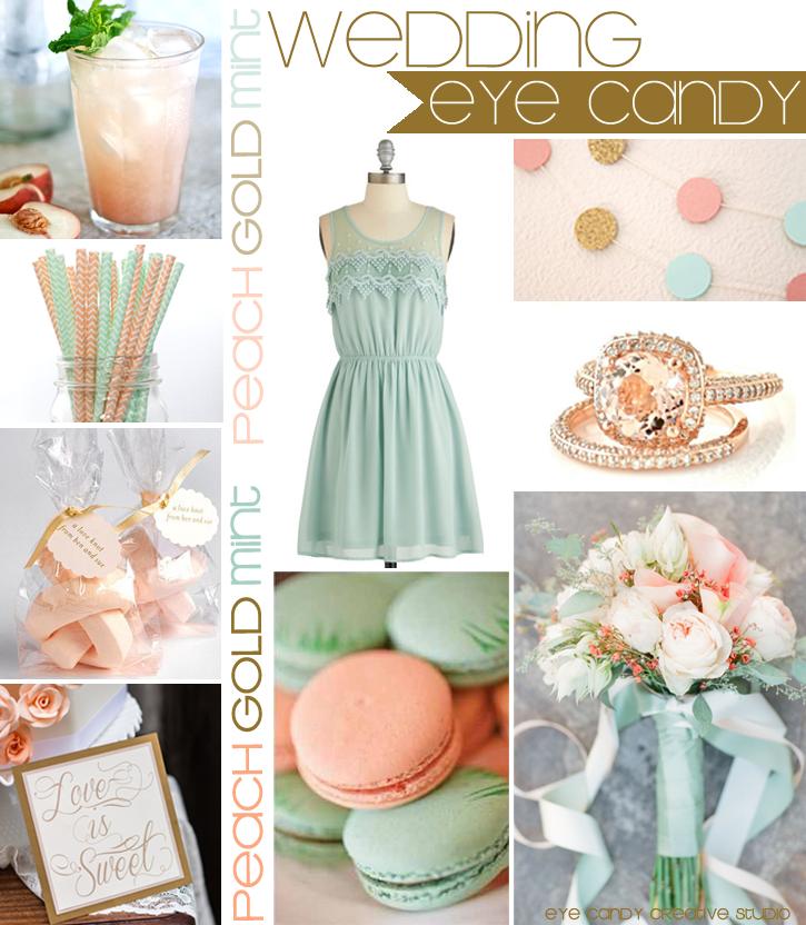Eye Candy Creative Studio: WEDDING :: Peach, Mint & Gold