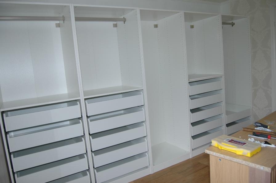 innredning garderobe. Black Bedroom Furniture Sets. Home Design Ideas
