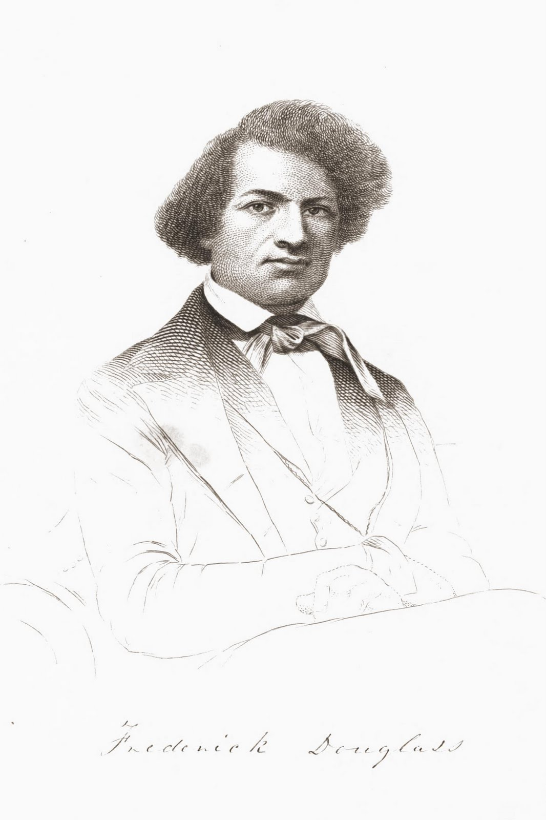 What source does Douglass rely on to learn how to read and write?
