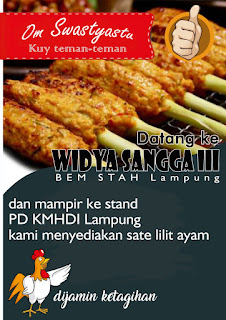 Besok! KMHDI Lampung Akan Stand Wirausaha