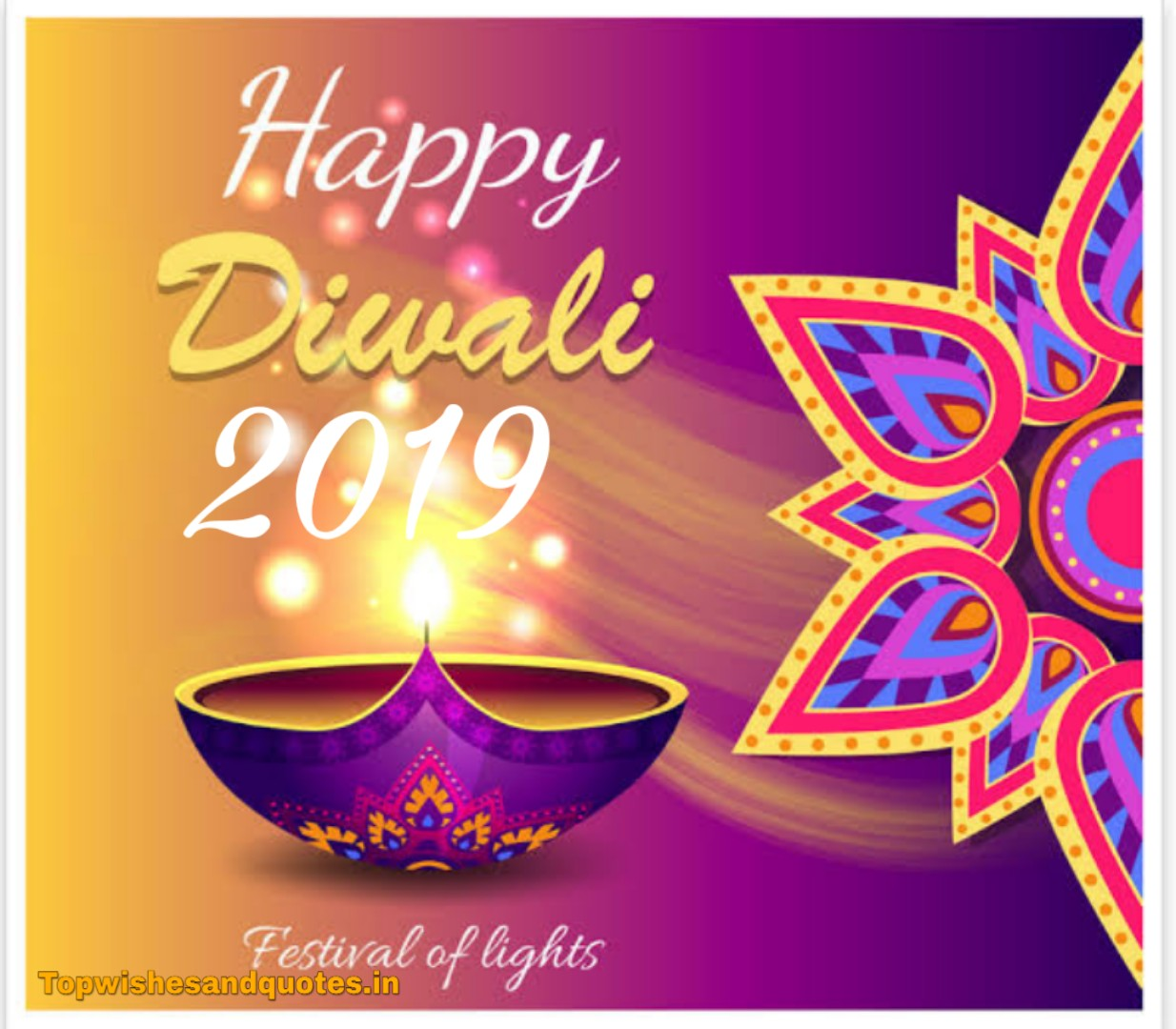 Happy Diwali 2019 Wishes For friend, Girlfriend and Family
