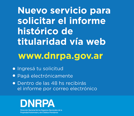 Solicite su Informe Via Web