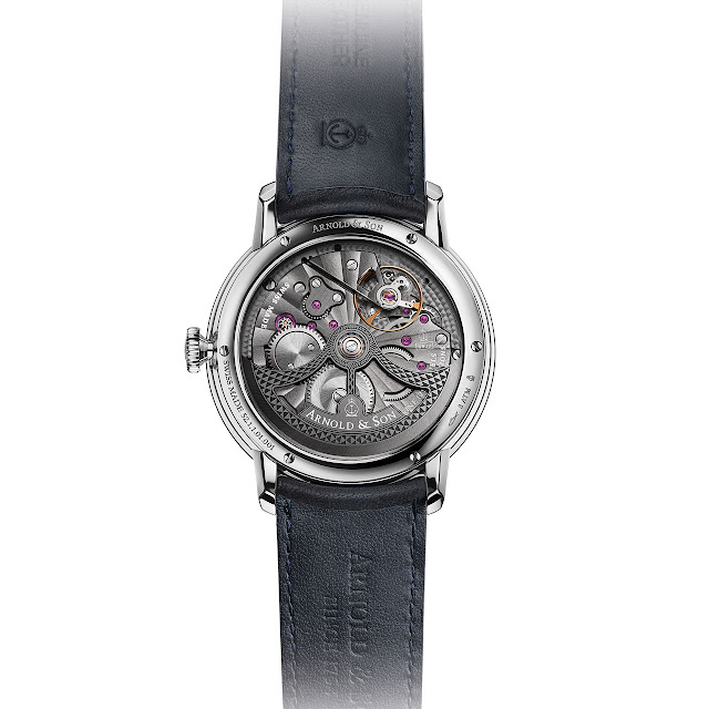 Arnold & Son Globetrotter Mechanical Automatic A&S6022 Calibre Watch