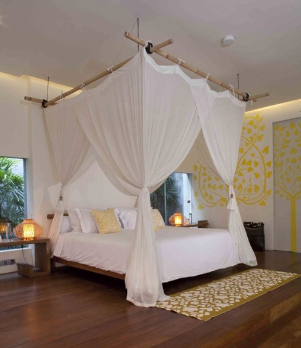 Tropical Resort Master Bedroom Design and Decoration Ideas