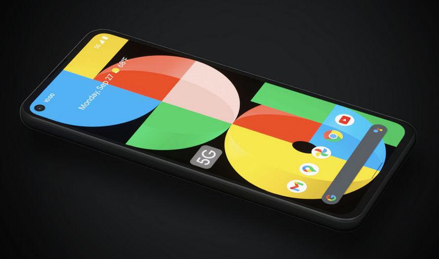 Google Pixel 5a 5G - 6.34 inç OLED ekran