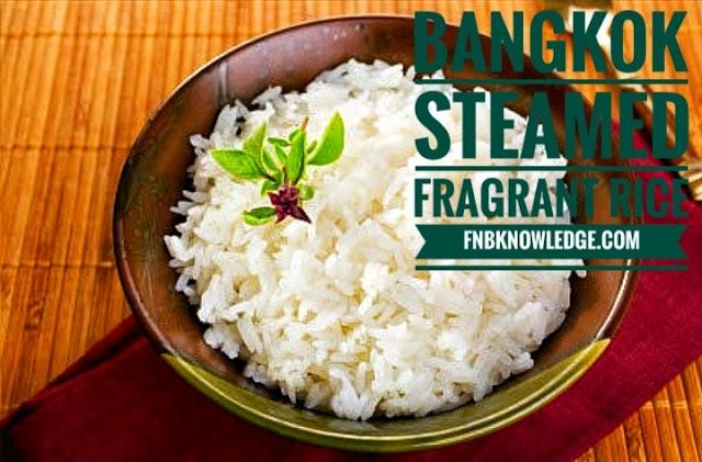 Thai Curry : Bangkok Steamed Fragrant Rice