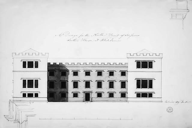 Plan Of Whitehaven Castle, 1766