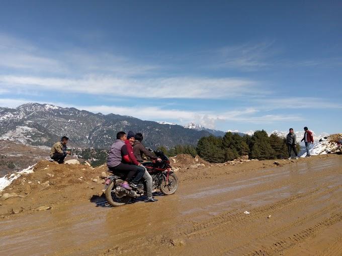 雪が大好きなネパール人たち