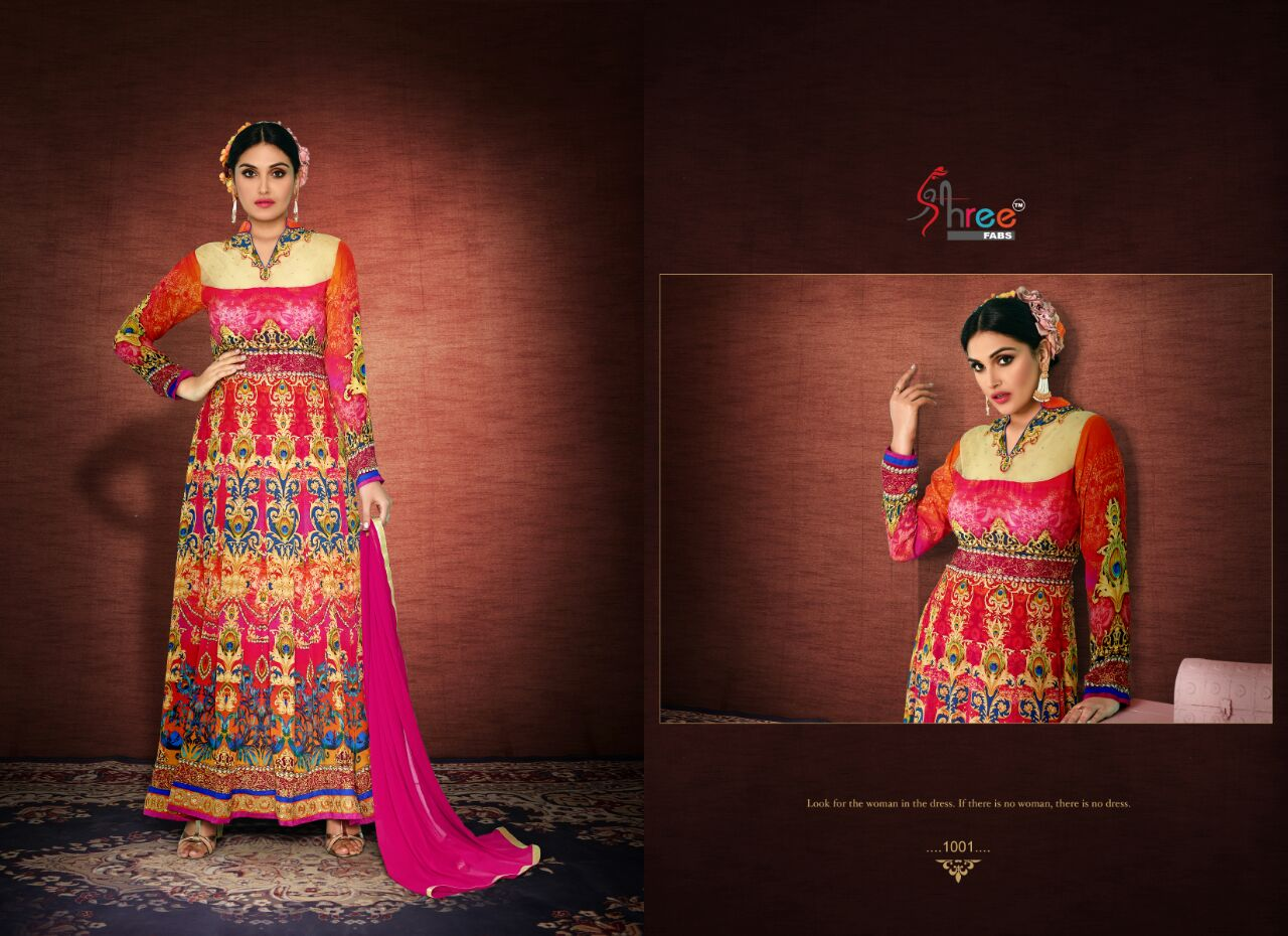 Serene – Royal silk with Embroidery Long Salwar Suit Online