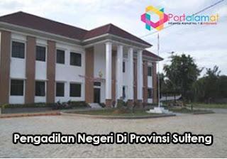 Alamat Kantor Pengadilan Negeri di Provinsi Sulawesi Tengah