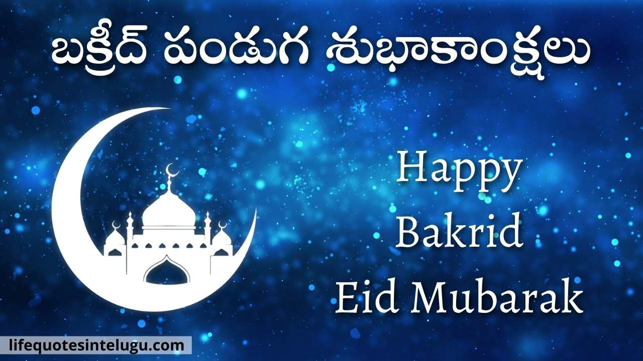 Bakrid Wishes In Telugu 2021: Images, Wishes, Quotes