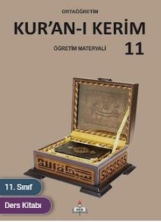 11. Sınıf Kuranı Kerim Meb Yayınları Ders Kitabı Cevapları