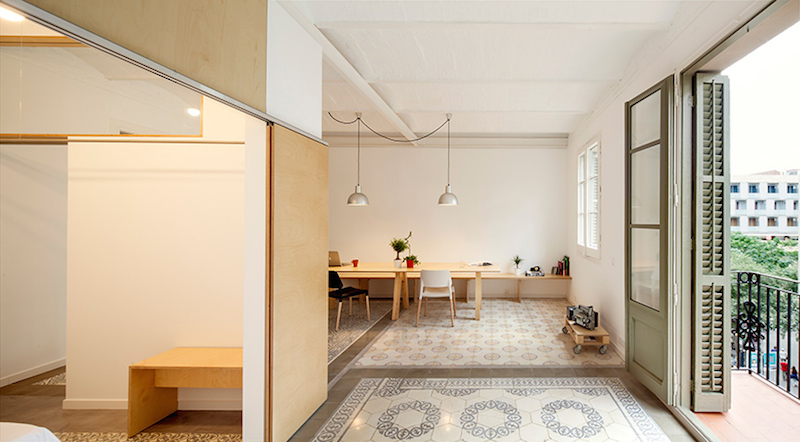 Mes caprices belges decoraci n interiorismo y for Decoracion piso eixample