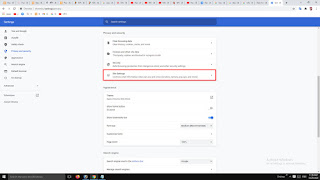 disable pop ups in chrome ,