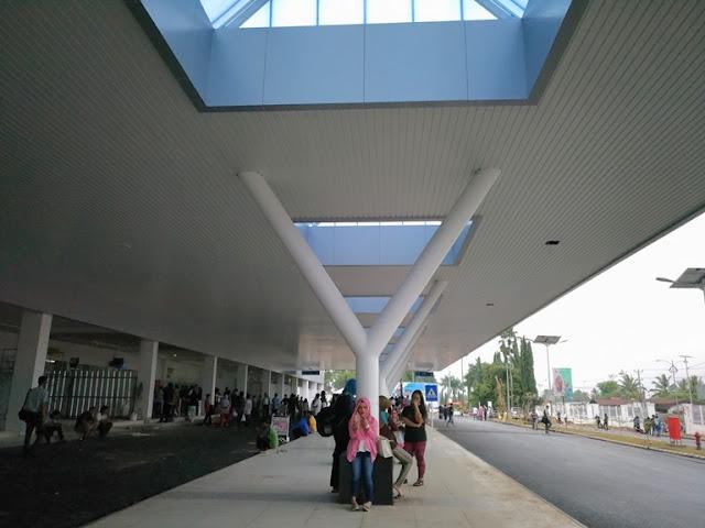 terminal baru bandara radin inten