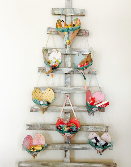 Heart Baskets - Cestini a cuore by Angela Tombari per Crea il Tuo Kit con Angela & Giorgia