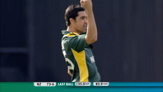 Umar Gul 5-6 - New Zealand vs Pakistan 18th Match ICC World T20 2009 Highlights
