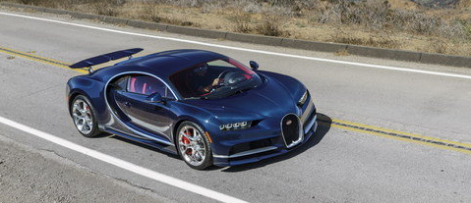 2018 Bugatti Chiron Performance