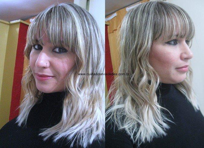 Recuperar os cabelos loiros