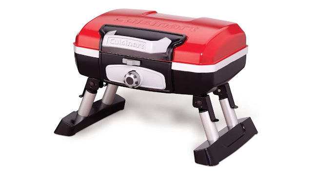 CUISINART portable Propane and Petit Gourmet Tabletop Gas Grill