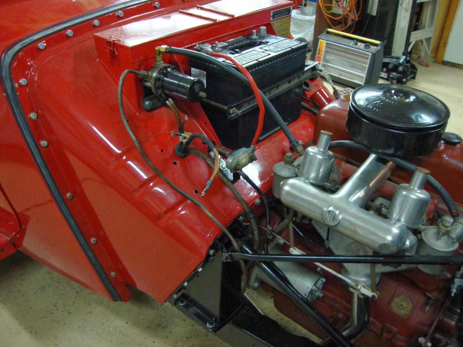 1955 Mg Wiring Diagram Dump Trailer Pump 1952 Td 1971 Midget