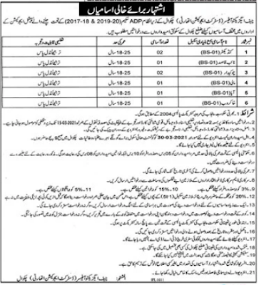 District Education Authority Jobs 2021 in Chakwal