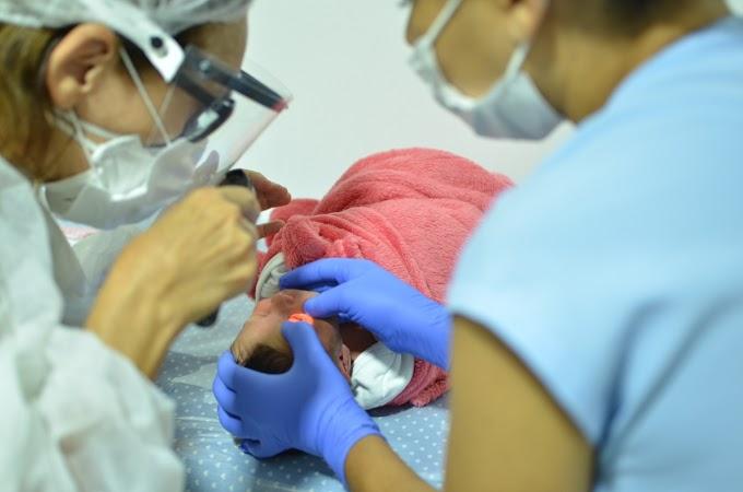 ISEA garante teste do olhinho para recém-nascidos do Instituto e de outras maternidades
