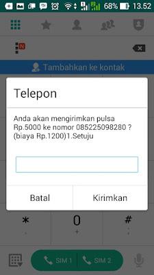 Cara Transfer Pulsa Telkomsel melalui USSD
