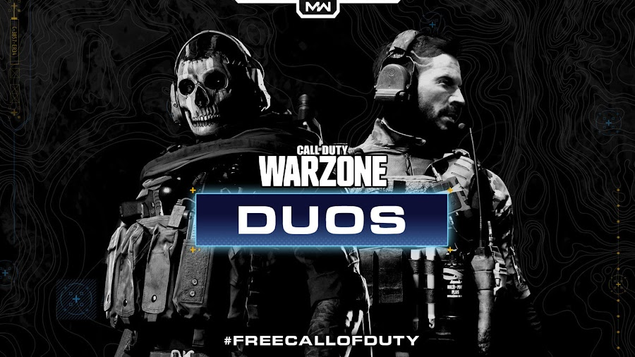 call of duty warzone battle royale duos mode modern warfare operator simon ghost riley pc ps4 xb1 infinity ward raven software activision