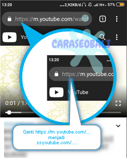 cara download mp4 dari youtube lewat android