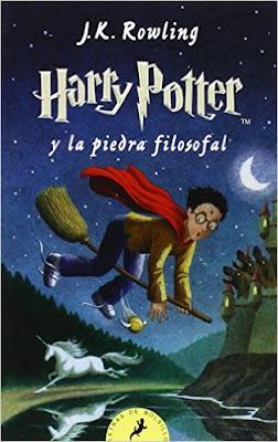 Novela de fantasía juvenil Harry Potter