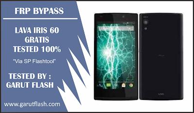 Remove FRP & Flash Lava Iris 60 Tested 100% Gratis