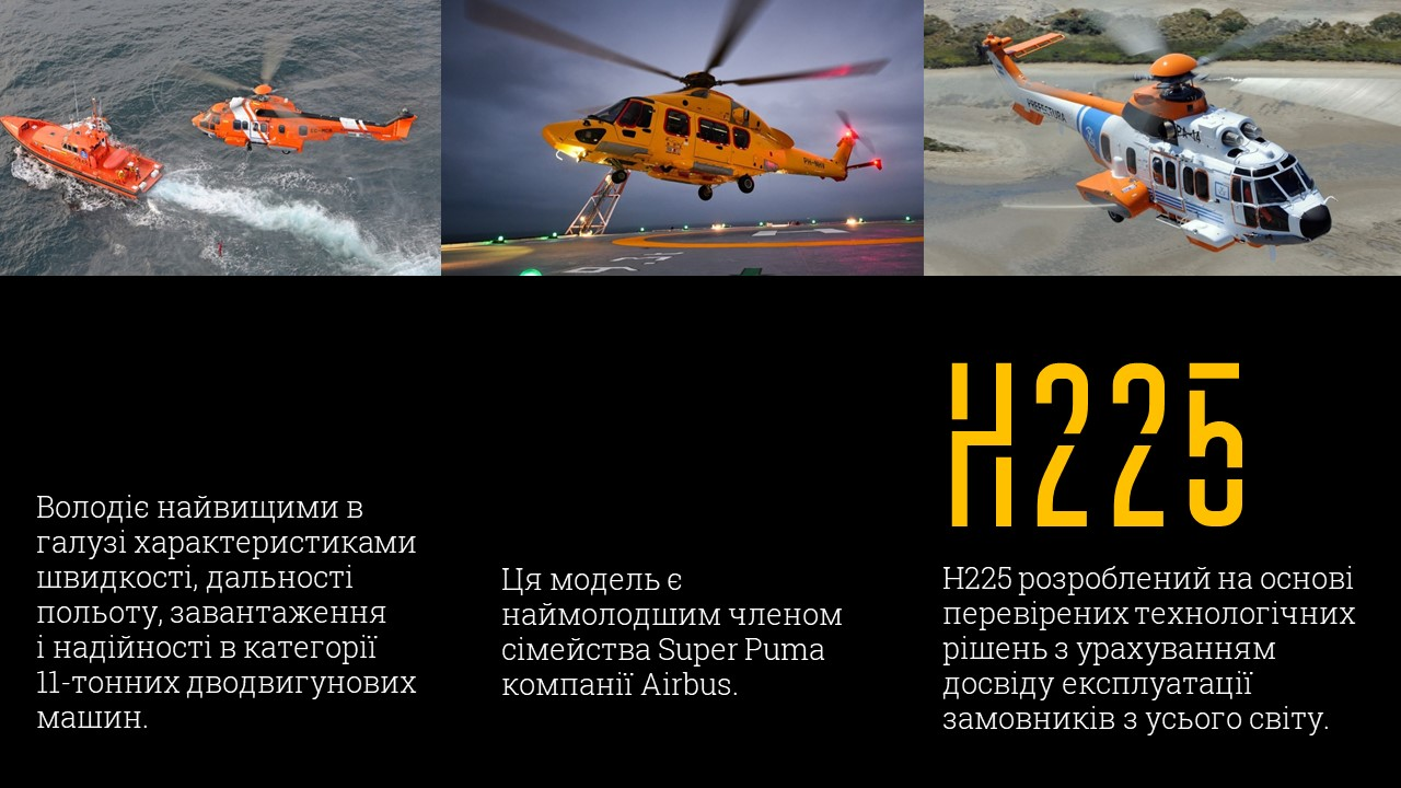 гелікоптери Airbus Helicopters H225