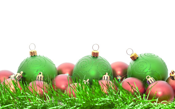 download besplatne pozadine za desktop 1680x1050 slike ecard čestitke blagdani Merry Christmas Božić kuglice za bor