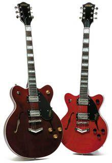 Tamaño del Cuerpo de las Guitarras Gretsch (Pequeño Vs Grande)