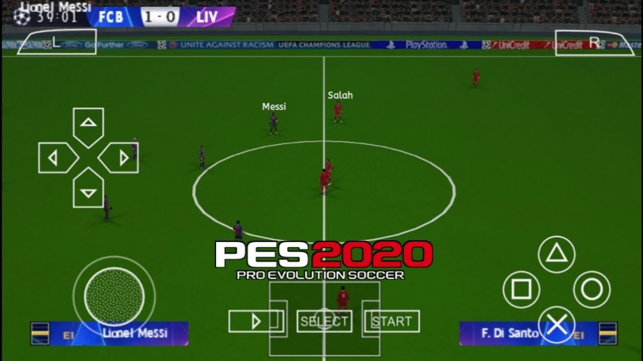 eebe8a8c9 Download And Play Pro Evolution Soccer 2020 (PES 20) ISO Version ...