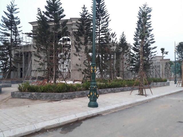 Cảnh quan xây dựng dự án Louis City