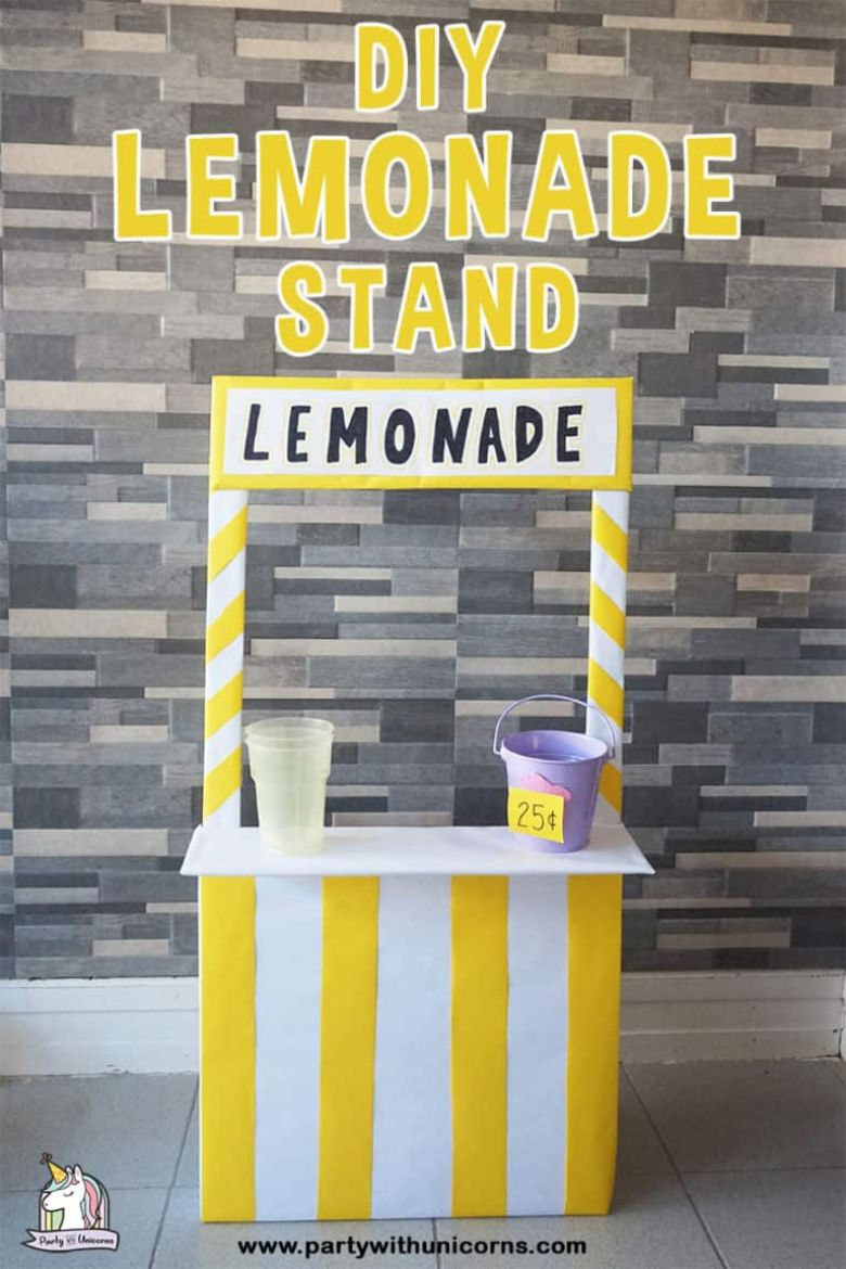 diy lemonade stand summer activities for preschoolers