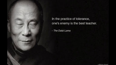 Famous Quotes About Life Changes: in the pr action of tolerance, one's emey
