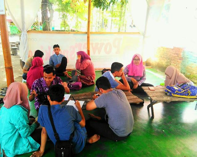 Suasana Belajar di Interpeace