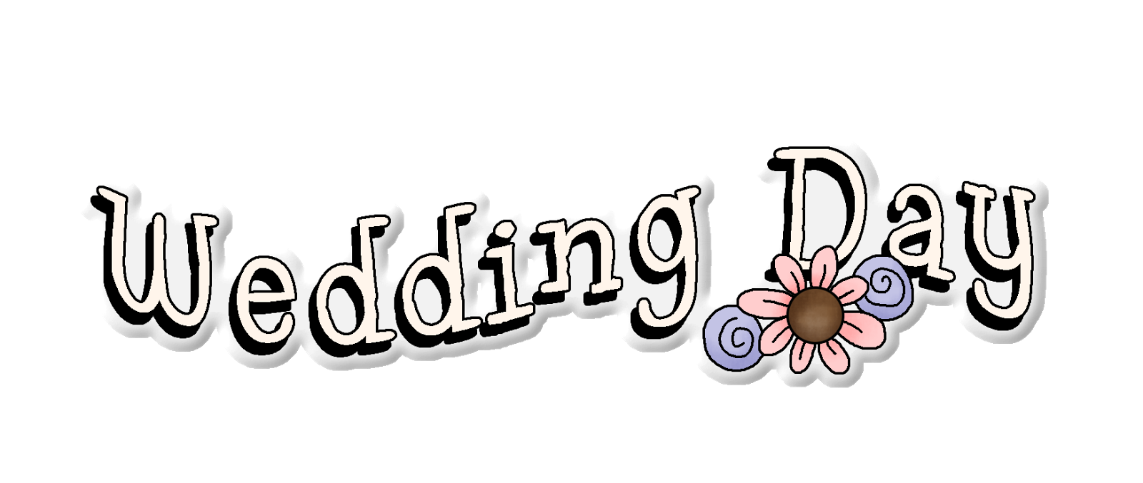 Wedding Day Clip Art.