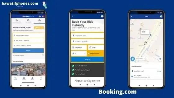 تطبيق Booking.com Android