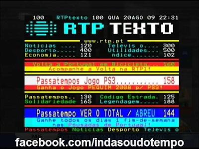... do Teletexto