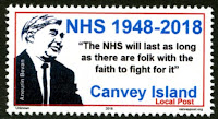 Canvey Local Post NHS 70 Years Stamp