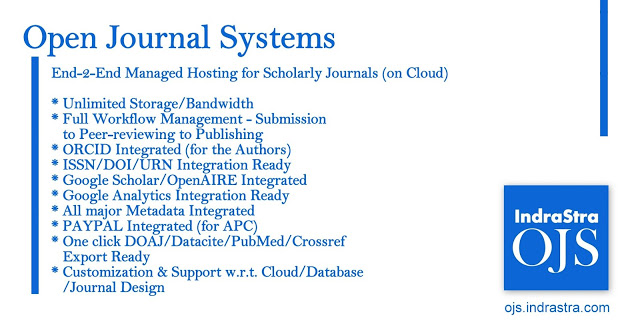 Open Journal Systems for Indian Universities & Research Institutions